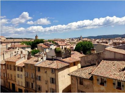 Aix roofs